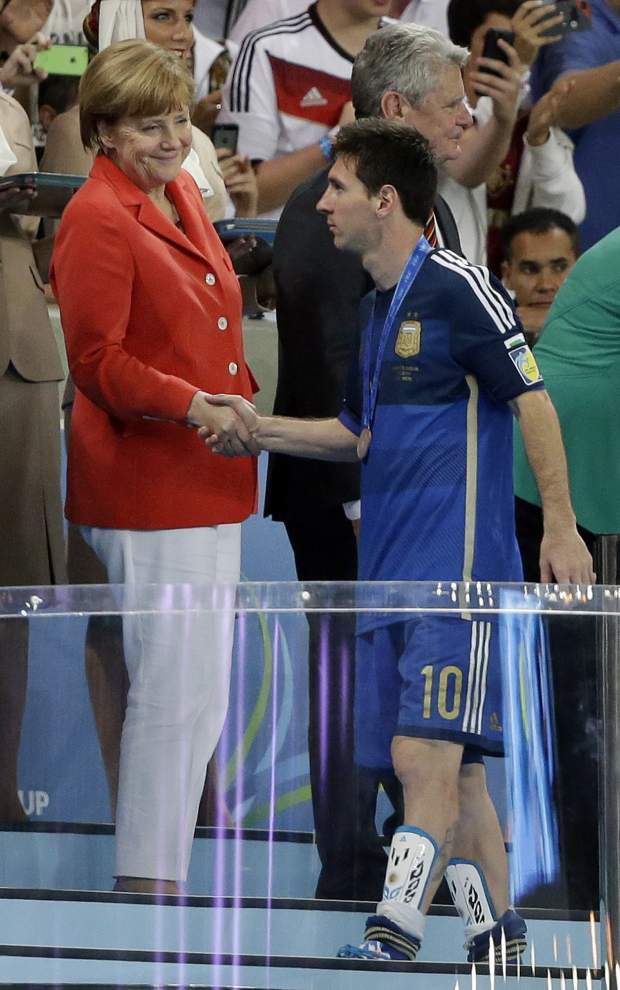 Argentina's Lionel Messi denied title after forgettable final _lowres