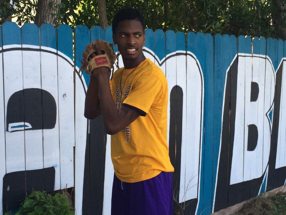 Tyree Thompson is primed to be the first Karr baseball player in the MLB draft _lowres