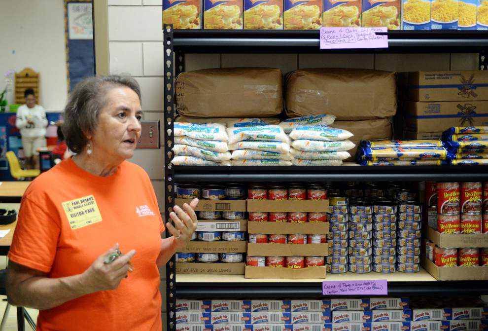 Second Harvest program helping Acadiana families in need through schools _lowres