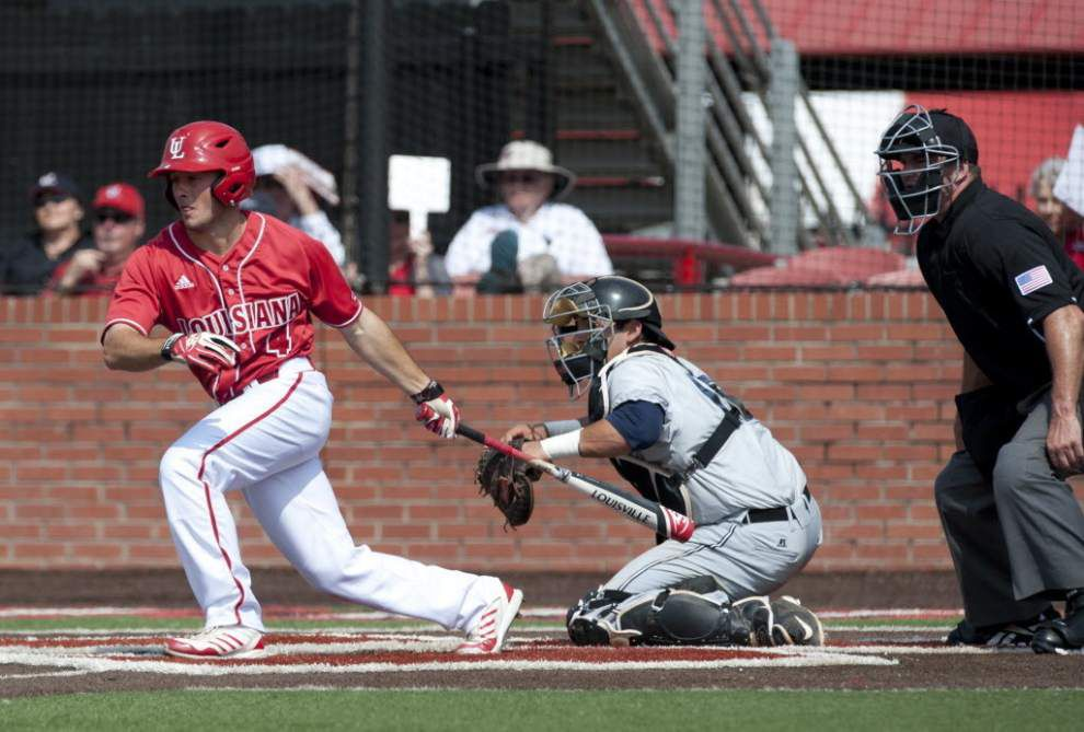 Ragin' Cajuns' Blake Trahan goes unselected through MLB draft's first 75 picks _lowres