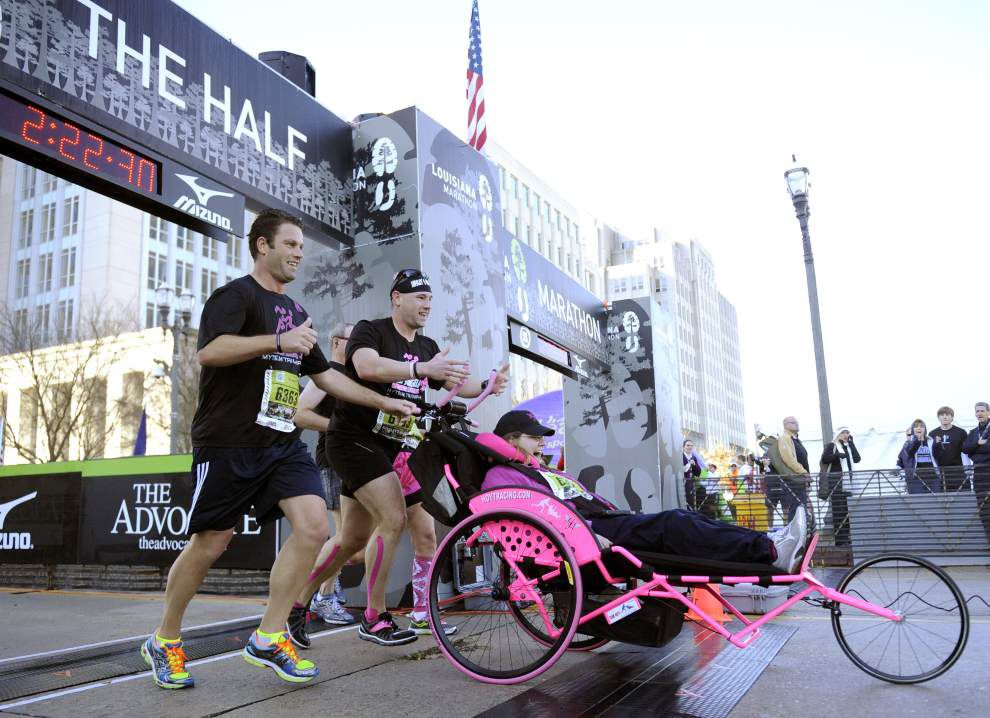 Ainsley's Angels program to play big part in Louisiana Marathon once again _lowres