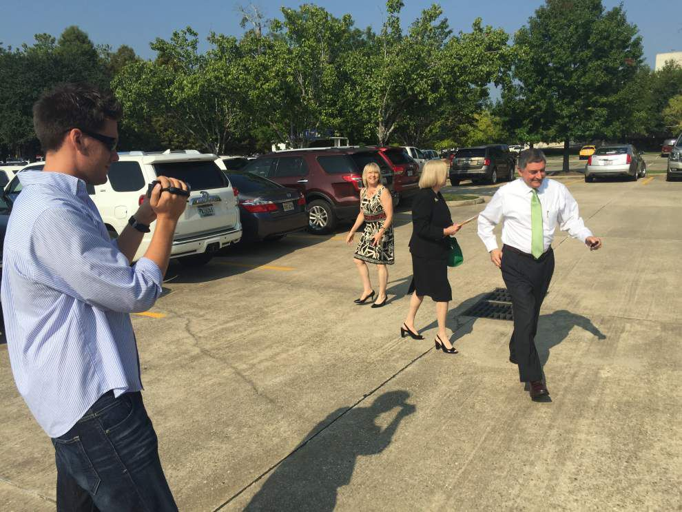 Meet Louisiana's most prominent 'tracker' -- video camera-toting person who films political candidates to capture their every word, misstep _lowres