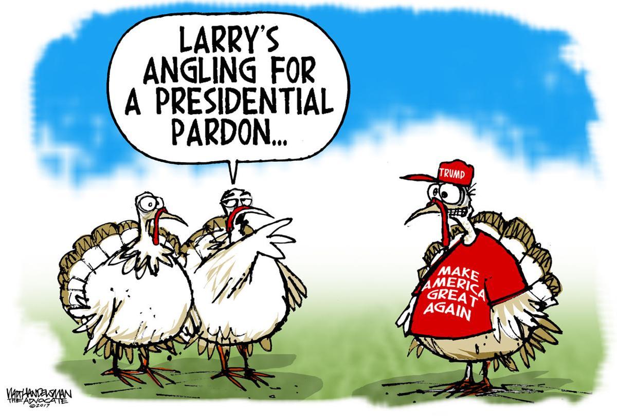 Walt Handelsman: Tricky Turkey