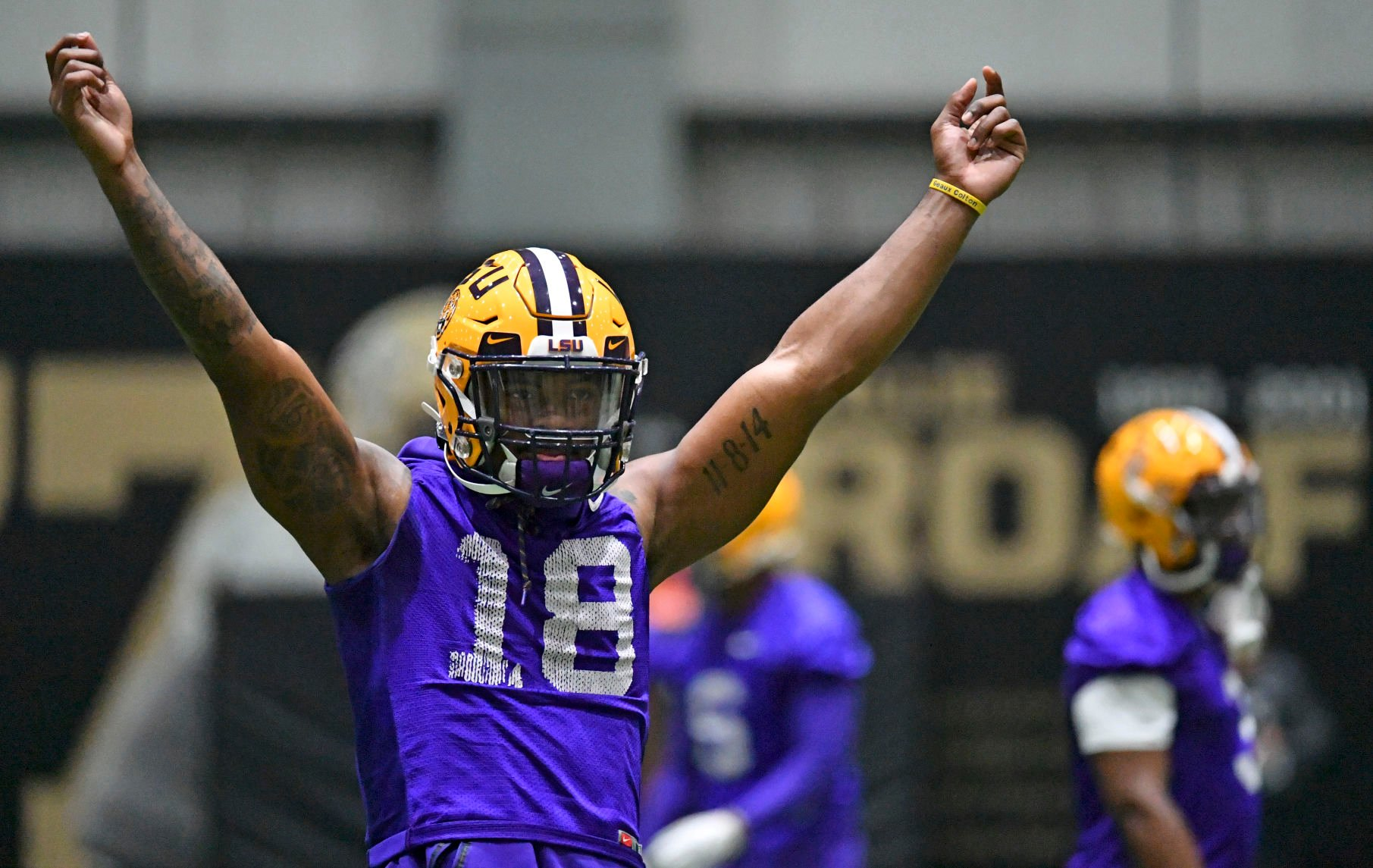 Damone Clark and Chris Curry will wear No. 18 for LSU, but who ...