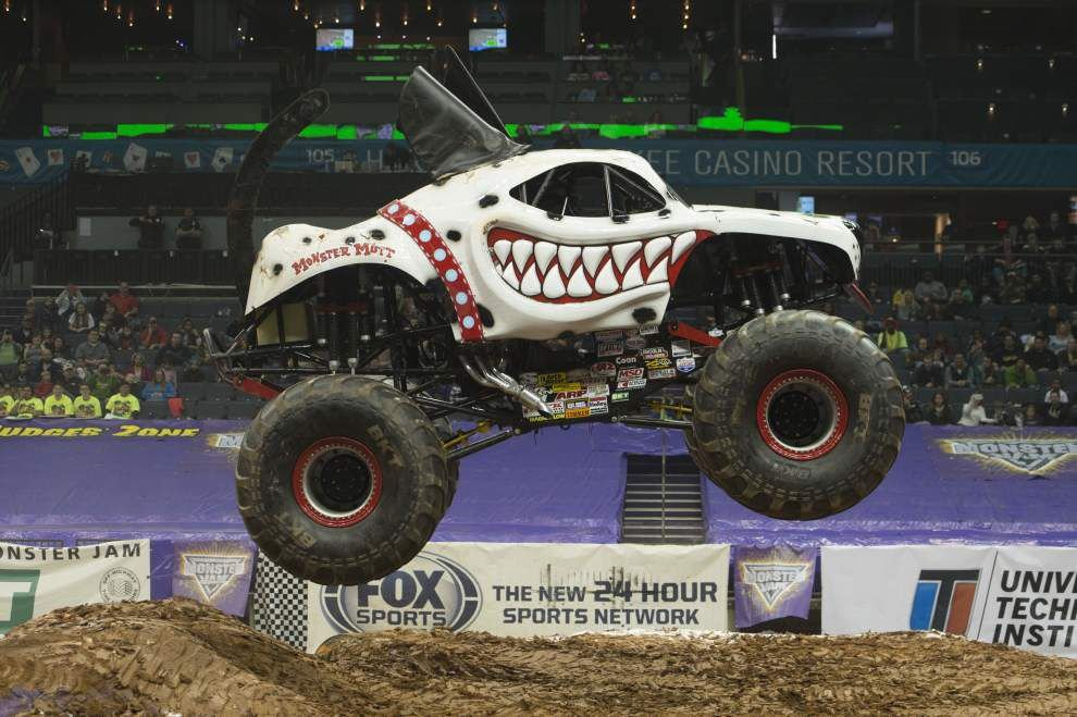 Monster Jam driver Candice Jolly wants little girls to know they can be anything _lowres