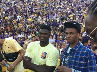 Zion at LSU