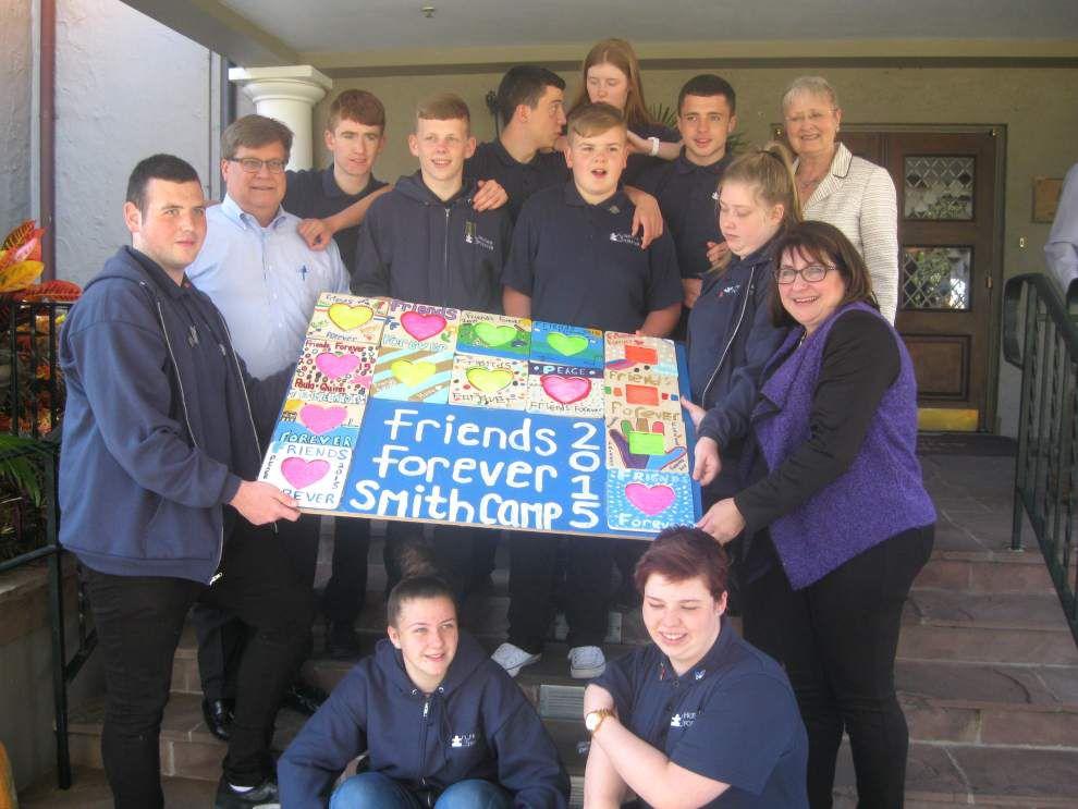 Teenagers from Northern Ireland make Metairie part of bonding retreat _lowres