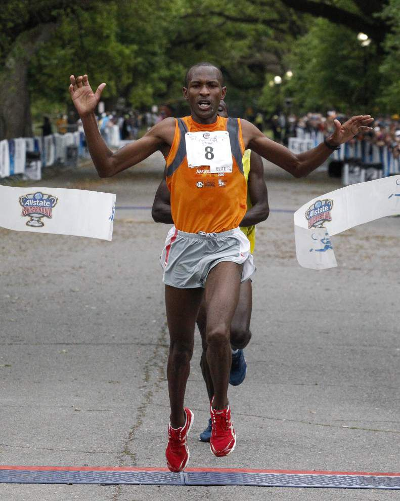 Isiah Koech, winner of the 2013 Crescent City Classic, returns for another shot at the title _lowres