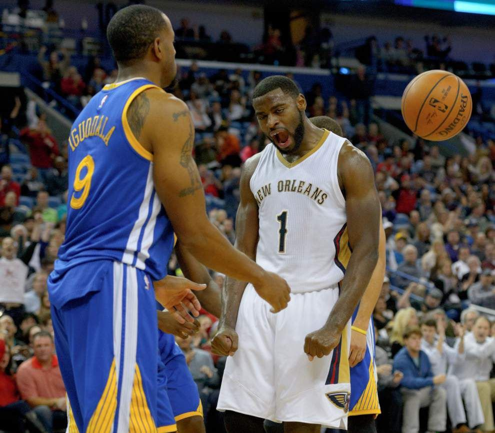 Video: Pelicans guard Tyreke Evans says the team needed to be able to finish against Golden State _lowres