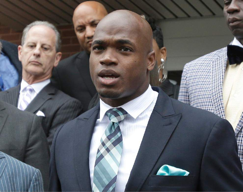 NFL to hear Adrian Peterson's appeal _lowres