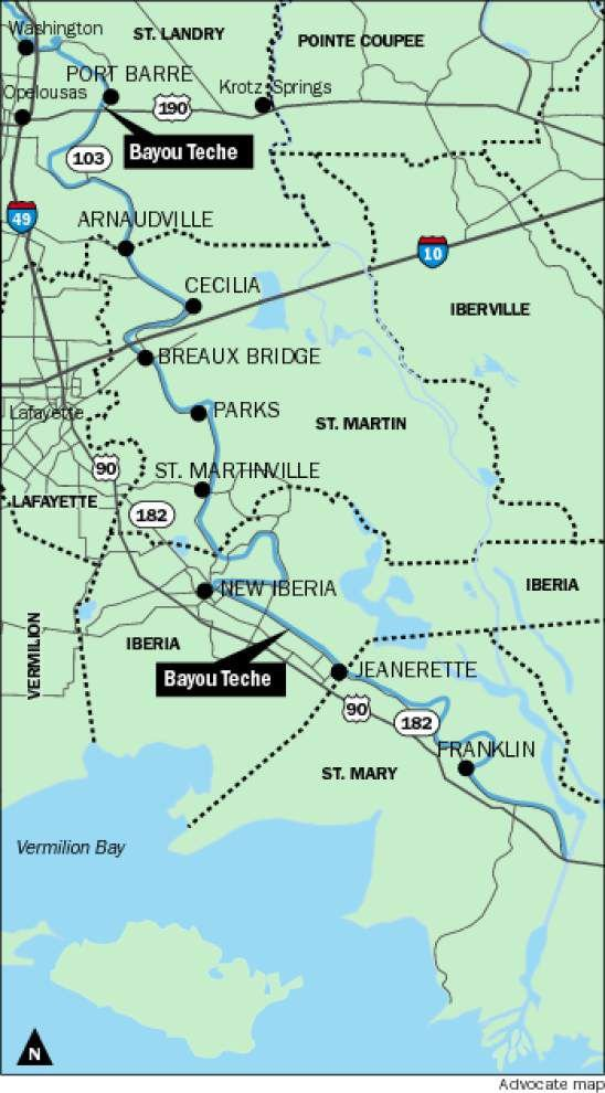 Feds designate Bayou Teche as state's first national water trail _lowres