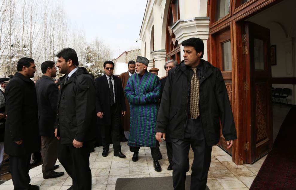 Existing Afghan deal would cover U.S. post-2014 _lowres