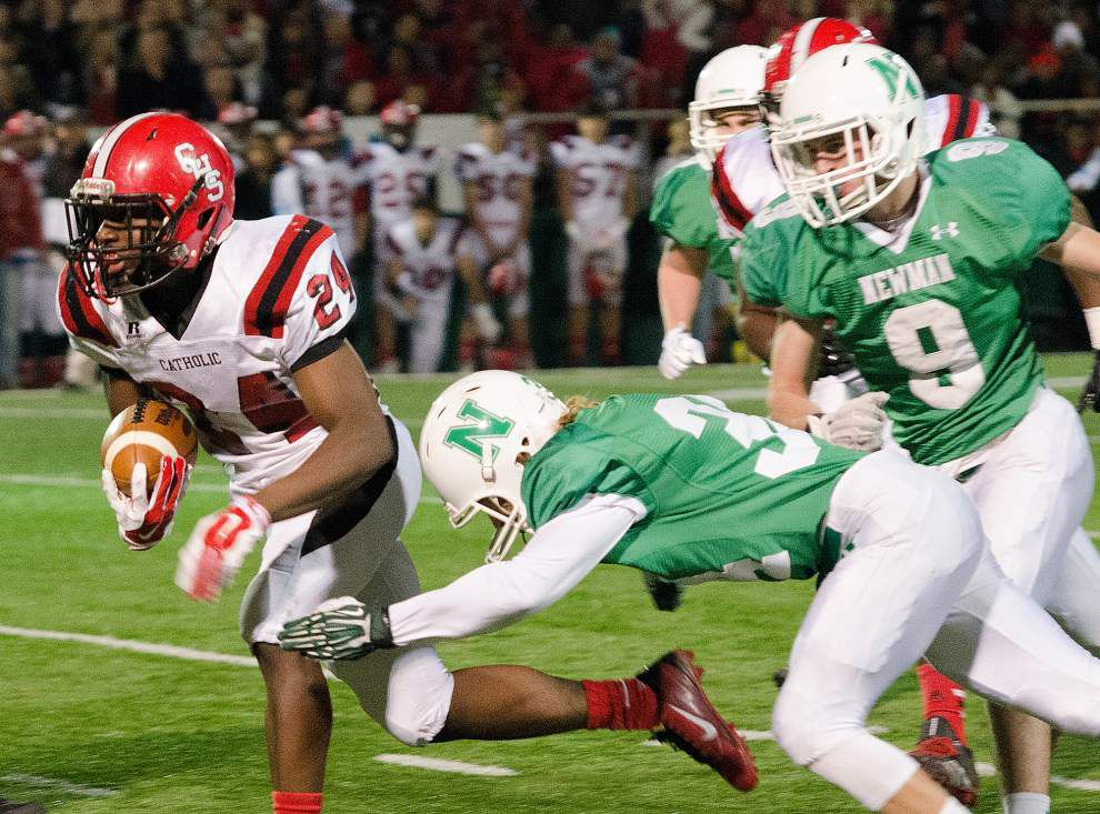 Former Catholic-New Iberia quarterback Brent Indest savors coaching alma mater to final _lowres