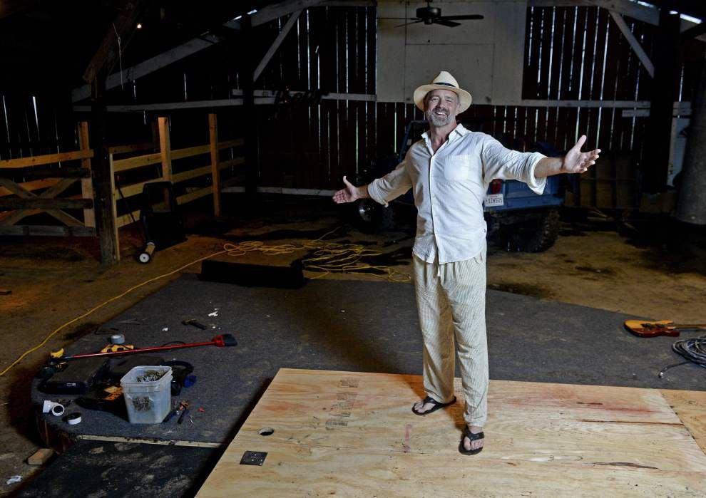 Iconic Broadmoor Theatre fixtures get second life at John Schneider's Holden studio _lowres