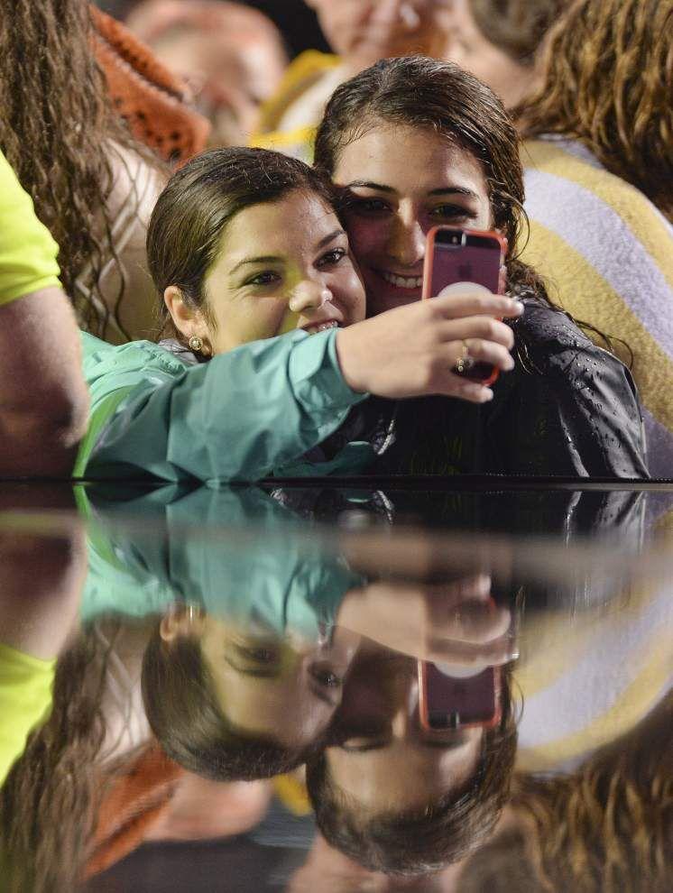 Photos: Miranda Lambert, Blake Shelton are big hits at Bayou Country Superfest as storms soak acts on final day _lowres