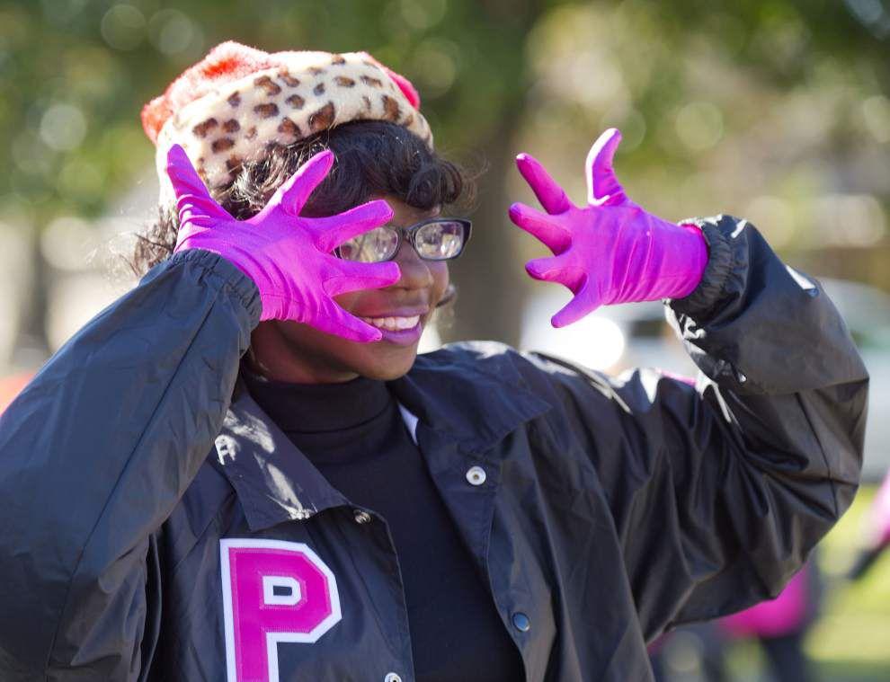 Photos: Kids, bands, joy followed south Baton Rouge Christmas parade _lowres