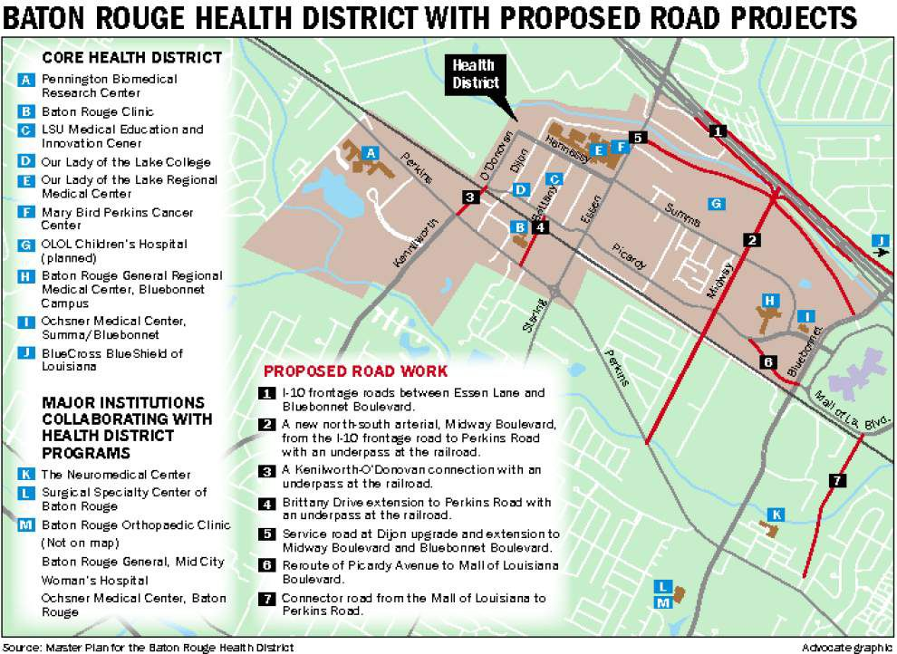 Dec. 10: Major plans revealed for new Baton Rouge Health District involving hospitals, higher education, more _lowres