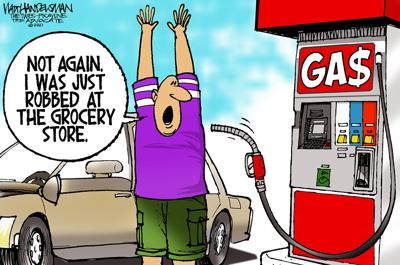 With over 700 entries, check out the WINNER and finalists in Walt Handelsman's latest Cartoon Caption Contest!