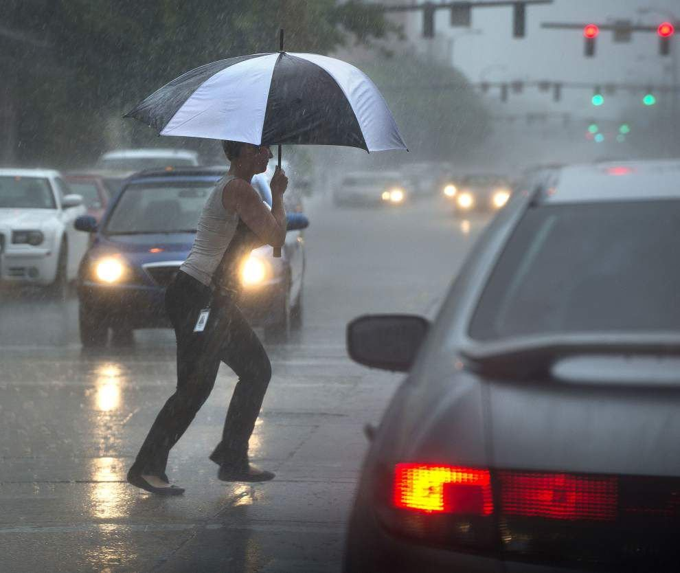 Soaking rains in Baton Rouge dump eye-popping amounts of wet stuff in past 3 months _lowres