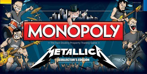 Monopoly issues Metallica and AC/DC special editions_lowres