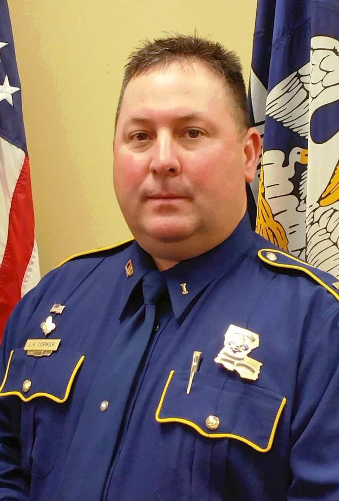 James Cormier tapped to head State Police Troop I in Acadiana _lowres