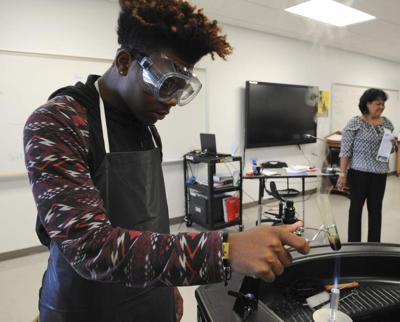 Lafayette STEM Academy showcases student projects along with $9 million school expansion _lowres