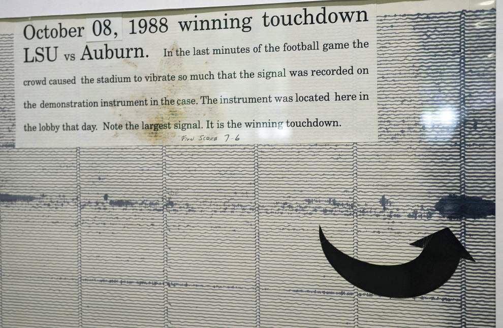 Five memorable LSU vs. Auburn games include a real 'barn burner,' 'The Earthquake Game' _lowres