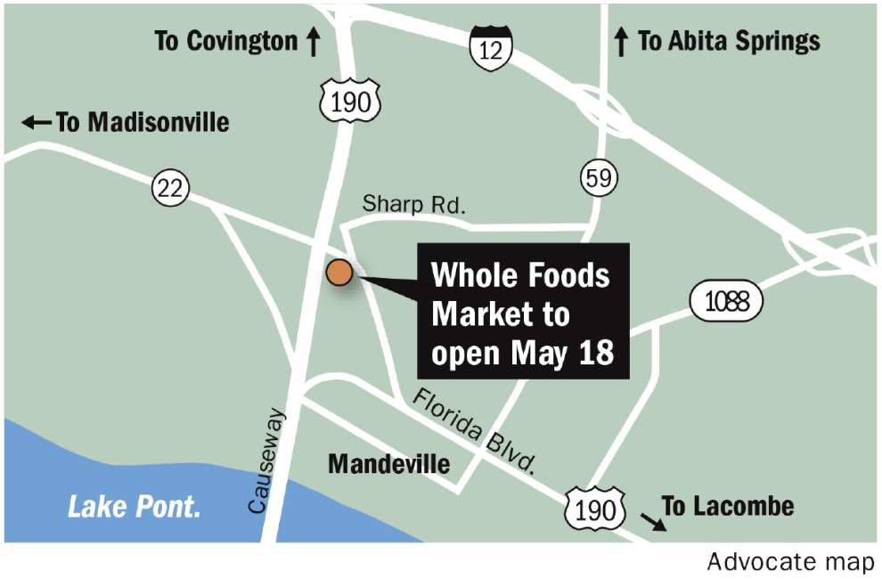 Whole Foods Market opening in Mandeville May 18 _lowres