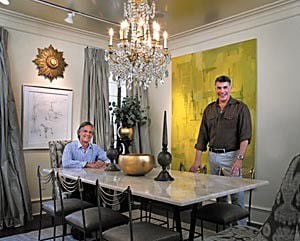 Tom Cianfichi and Bryan Batt's Quirky, Elegant Design Sensibility Takes Flight in their uptown cottage_lowres
