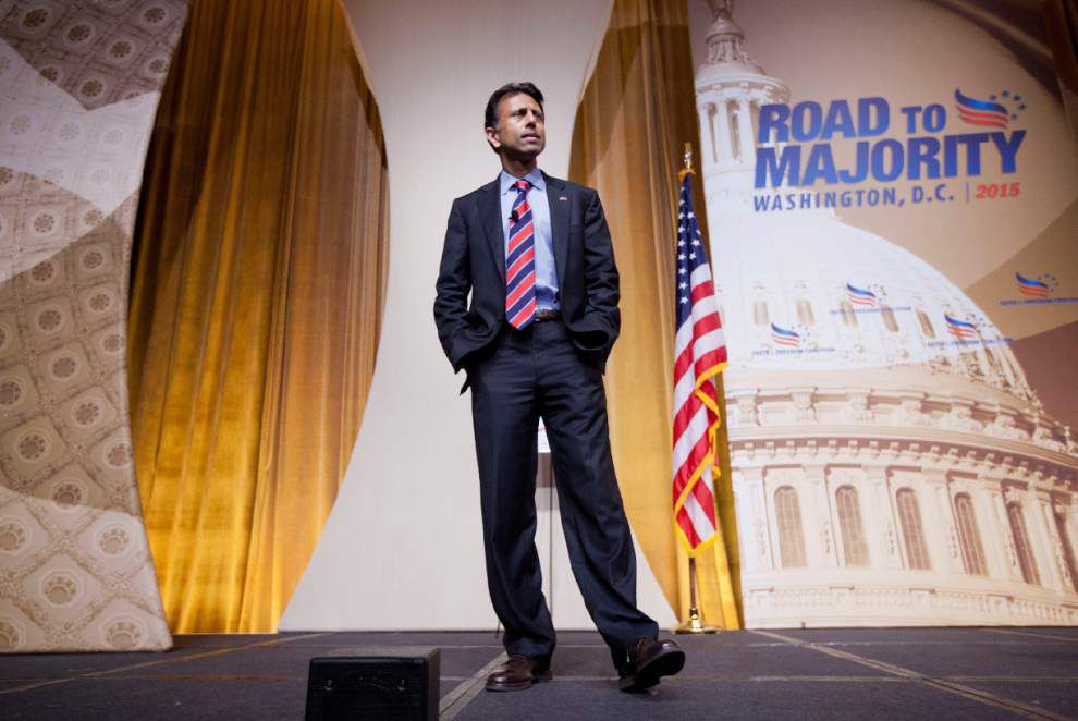 Republican candidates jockey for place in first prime-time presidential debate _lowres