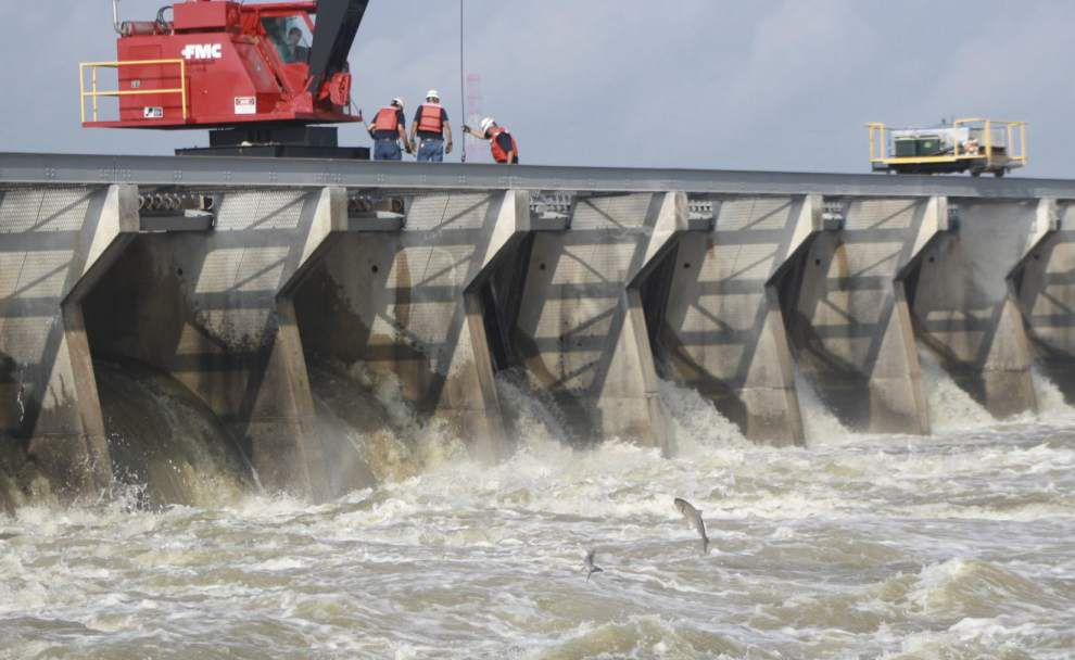 Bonnet Carre Spillway to open starting at 10 a.m. Sunday; there's a spot for public viewing, but not for drones _lowres