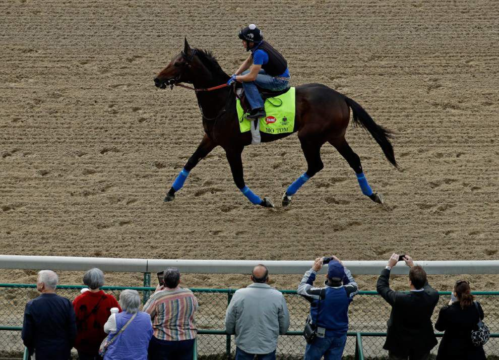 Trainer Tom Amoss understands skepticism regarding Mo Tom, 'the best 3-year-old I've ever trained' _lowres