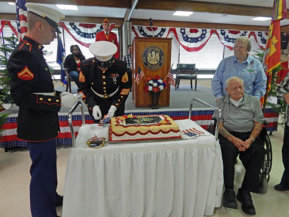 Veterans celebrated at many parish sites _lowres