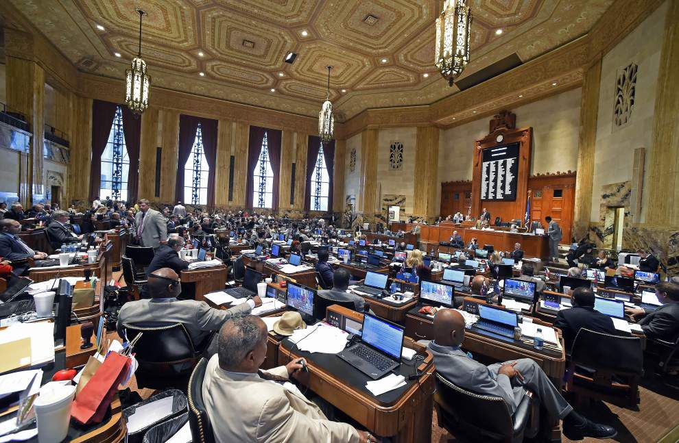 Aside from budget, Louisiana lawmakers aim to correct mistakes from first special session _lowres