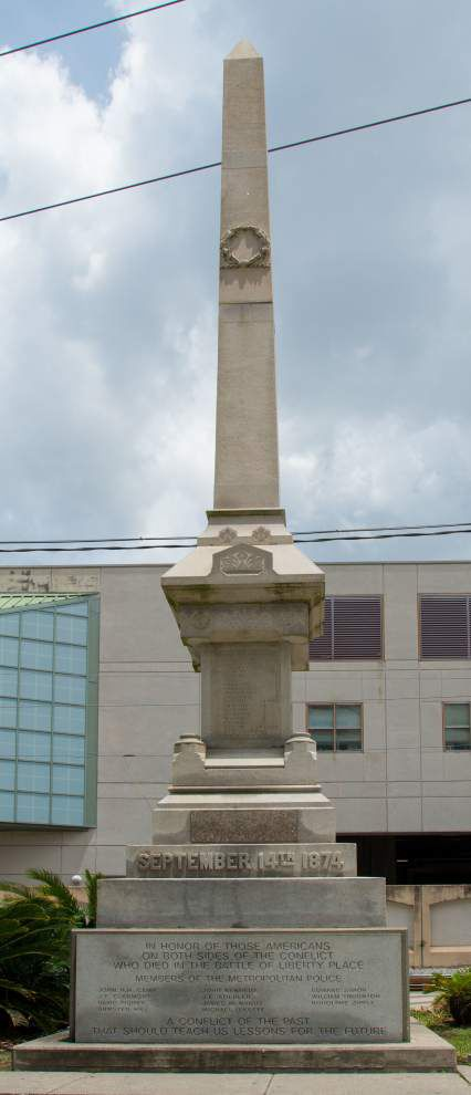 Vieux Carre Commission calls for removal of statue that honors white supremacist group _lowres