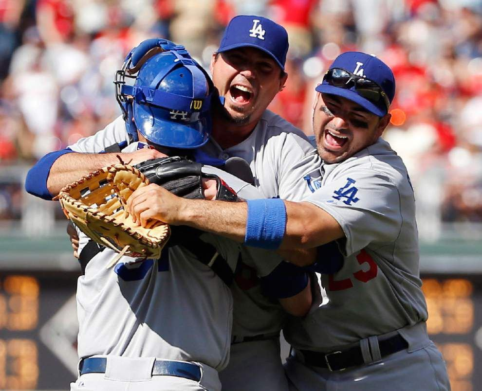 Dodgers' Beckett pitches first career gem _lowres