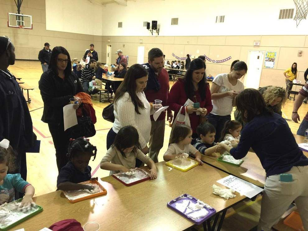 Galilee Baptist students enjoy 'Frozen' fun at Family Literacy Night _lowres