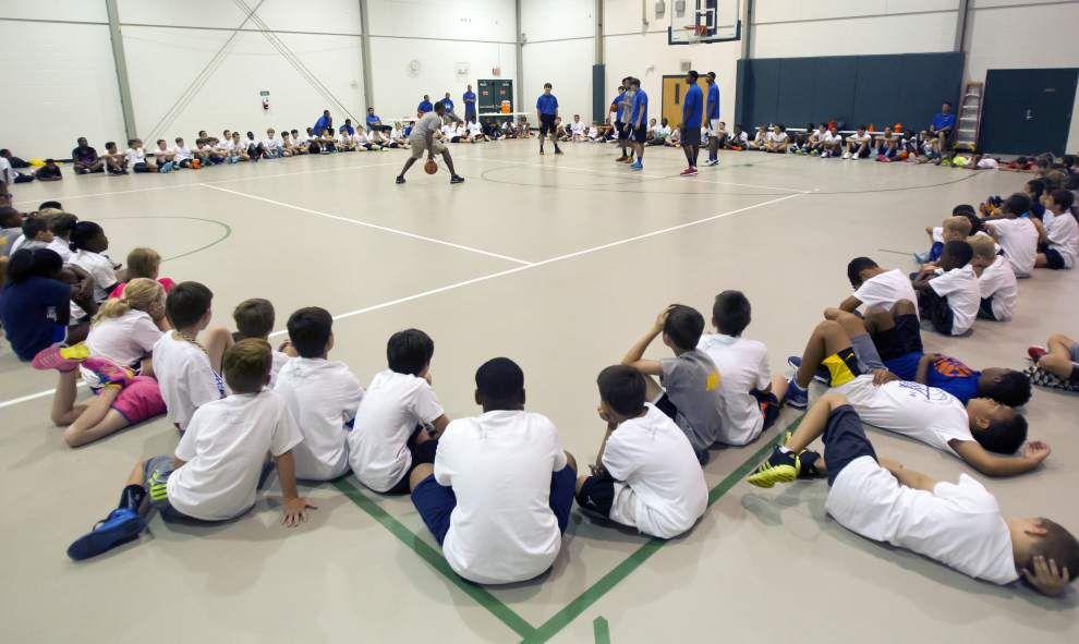 Final Chris Duhon basketball camp held _lowres