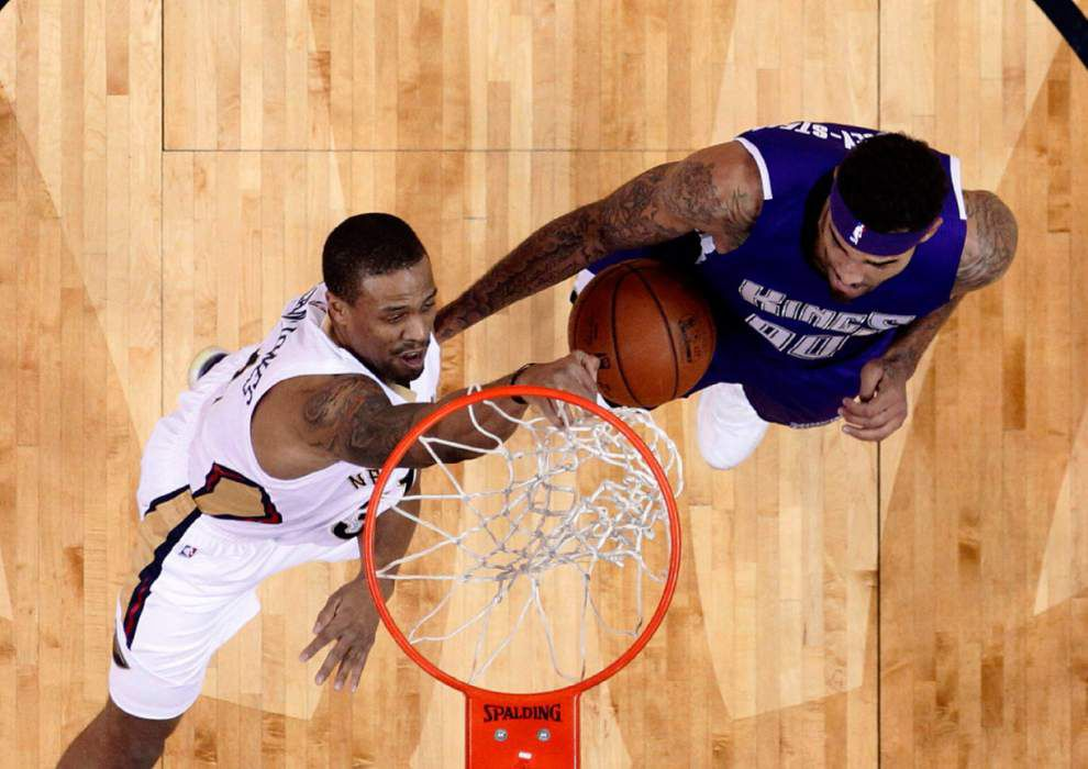 After making his first career start, Pelicans guard Bryce Dejean-Jones suddenly steps into the spotlight _lowres