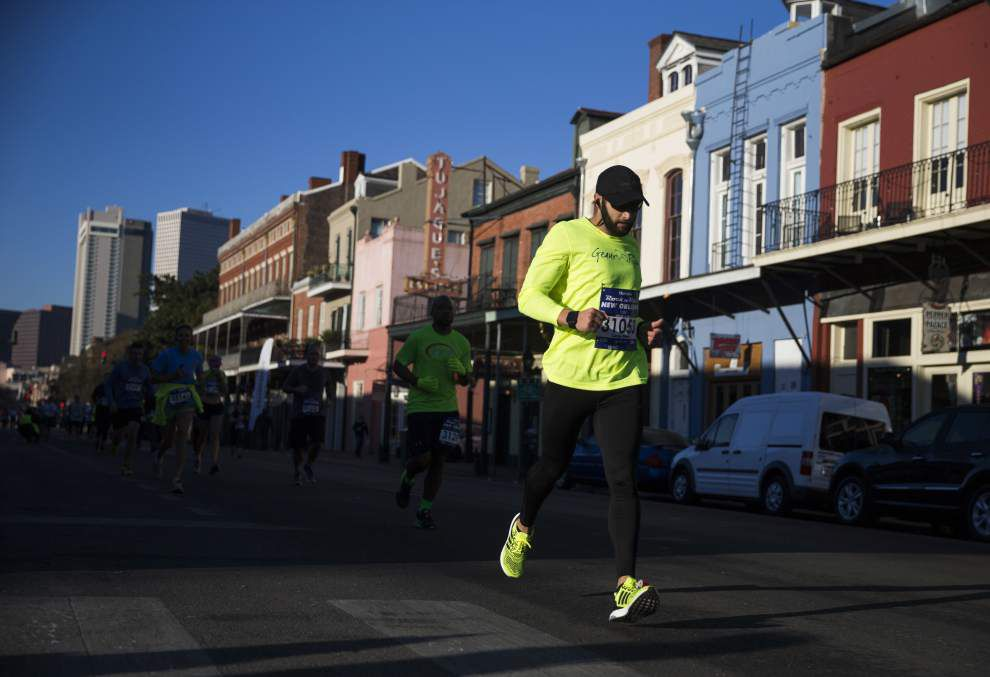 Geoffrey Burns and Meggan Franks take the titles at Rock 'n' Roll New Orleans Marathon _lowres