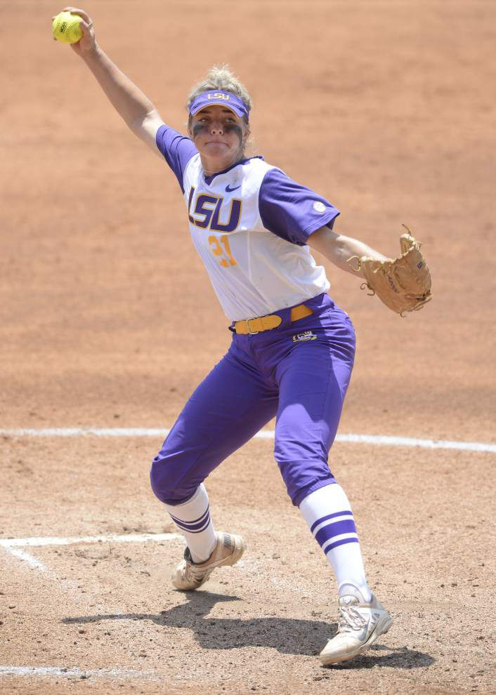 LSU's Carley Hoover, Louisiana-Lafayette's Lexi Elkins lead all-Louisiana softball team _lowres
