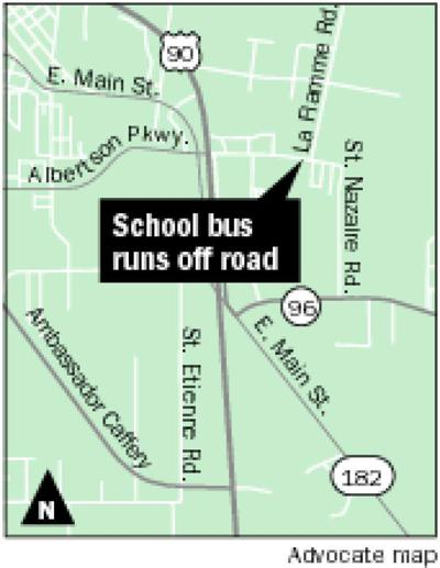 School bus driver in morning crash in Broussard to be tested for blood-alcohol content, Sheriff's Office says _lowres