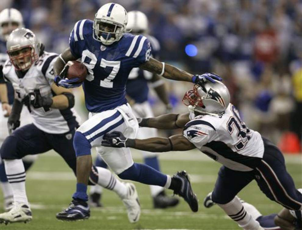 Indianapolis Colts release long-time receiver Reggie Wayne _lowres