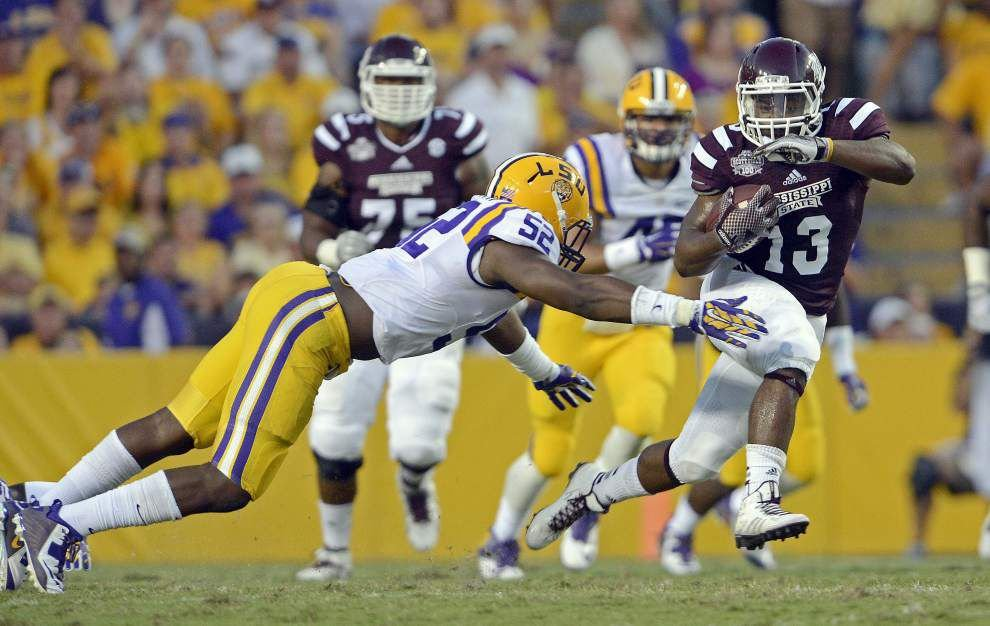 Missed tackles, communication issues haunt LSU defense in Mississippi State loss _lowres