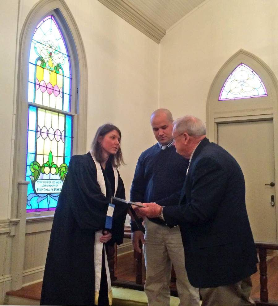 St. Francisville United Methodist Men recognized by state leaders _lowres