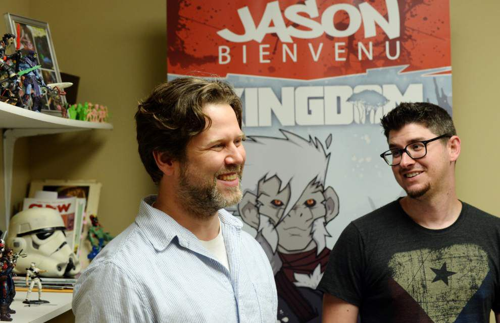 Lafayette duo expand company from comic books to action figures _lowres