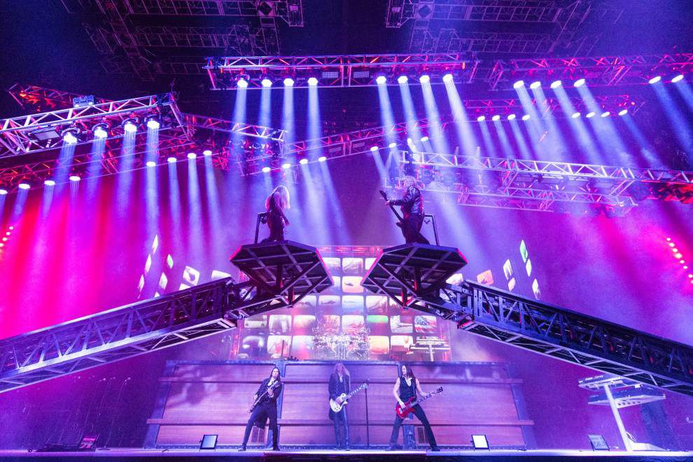 Trans-Siberian Orchestra rocks the season with fireworks, lasers, video and hydraulic lifts _lowres