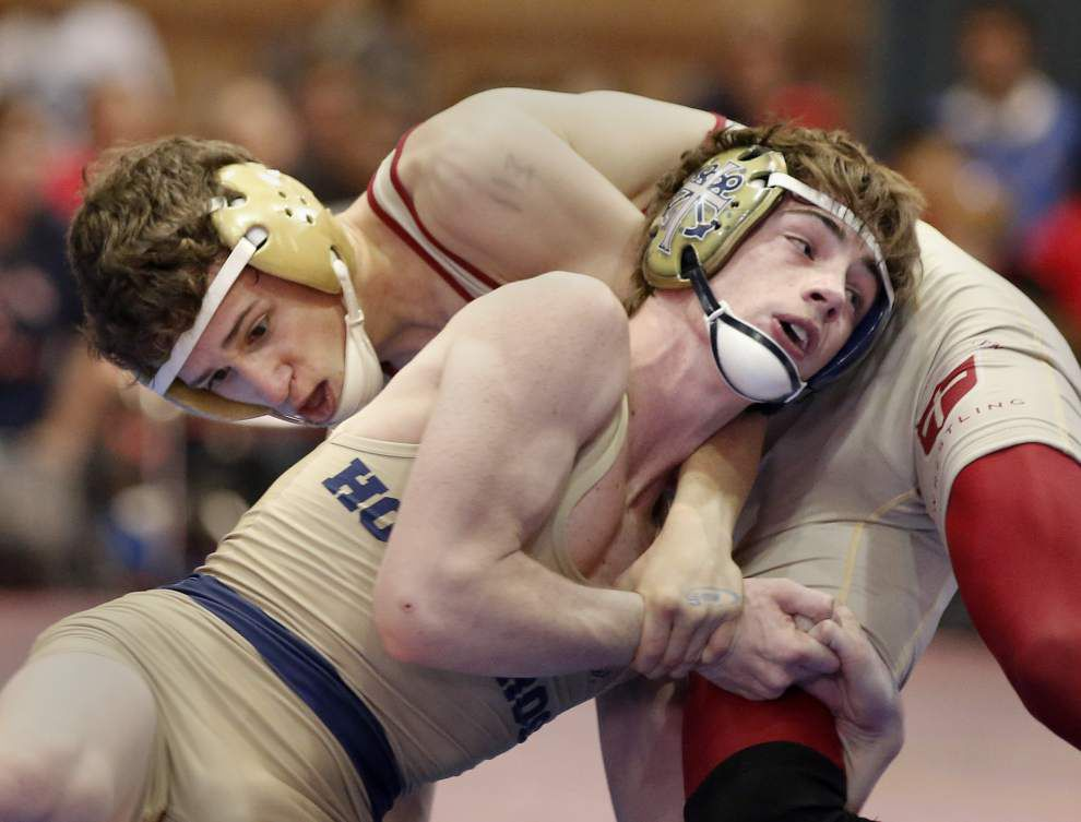 Brother Martin wrestlers try to add to legacy as they go for 17th title at LHSAA state tournament _lowres