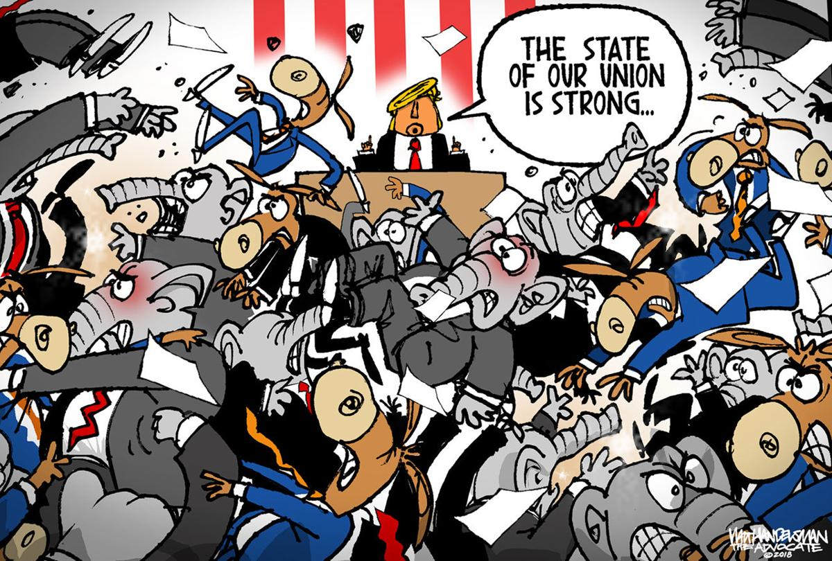 Walt Handelsman: State of our Union...