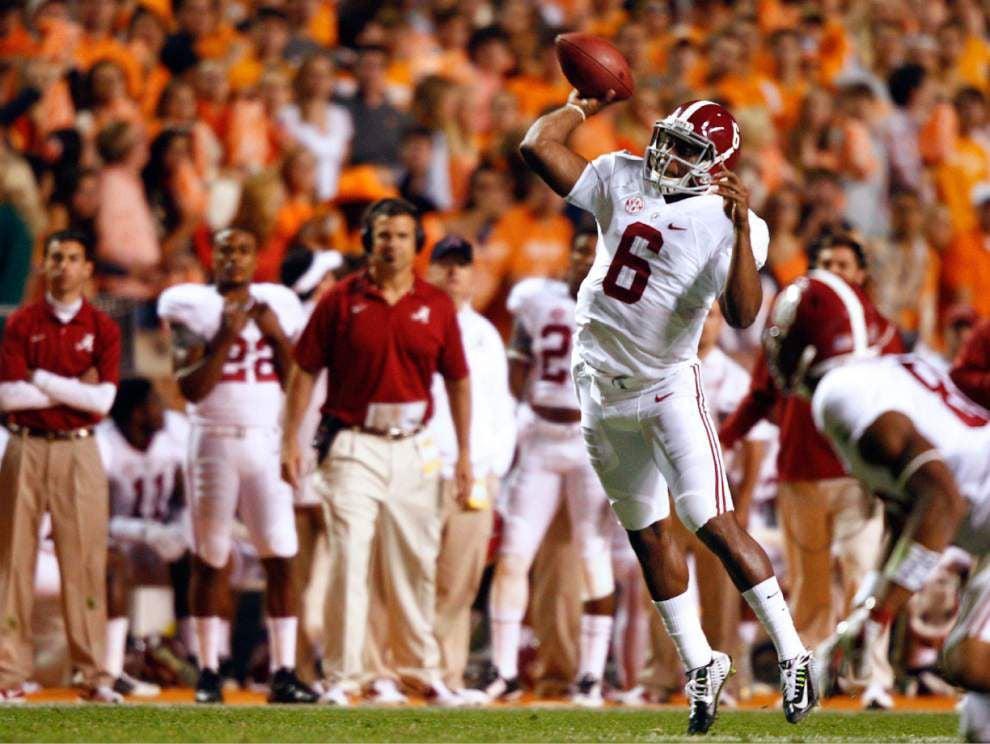 Quarterback Blake Sims has taken charge at Alabama _lowres